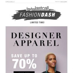[Last Call] St. John & more up to 70% off