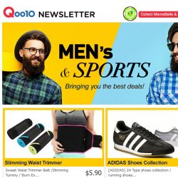 [Qoo10] 💥Men's and Sports SUPER DEAL! 💥 Adidas Shoes at $39! Lowest Price ever!