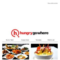 [HungryGoWhere] 4th diner dines free on ala-carte buffet dinner, all-you-can-eat lunch set from $28.90 - more Asian Specials await!