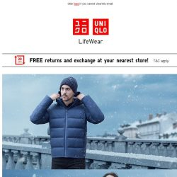 [UNIQLO Singapore] Your favourites, from casual to formal.