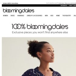 [Bloomingdales] Catch ZZZs in exclusive sleepwear from Eberjey & more