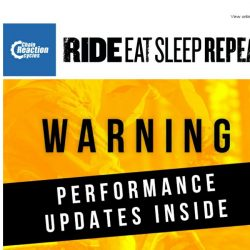 [Chain Reaction Cycles] Warning: Performance upgrades inside ⚡