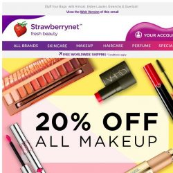 [StrawberryNet] , Last 24 HRS for Extra 20% Off ALL Makeup 💄