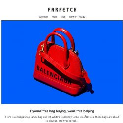 [Farfetch] These bags are about to rule your Insta