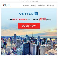 [Zuji] BQ.sg: Fly to USA fr $910!