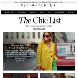 [NET-A-PORTER] Your perfect statement knit