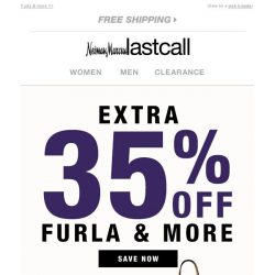 [Last Call] FAB BAGS extra 35% off (+ everything on site)