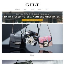 [Gilt] Furla | Gucci & More Watches for Men