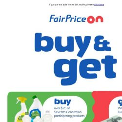 [Fairprice] Who Doesn't Like Freebies and Savings?