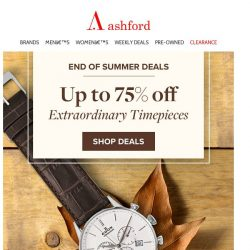 [Ashford] Just In! Check Out Our Newest Weekly Deals