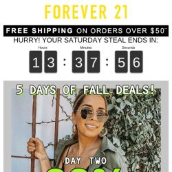 [FOREVER 21] DAY 2 | 30% OFF JACKETS & SWEATSHIRTS