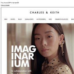 [Charles & Keith] Discover our collaboration with Dazed magazine