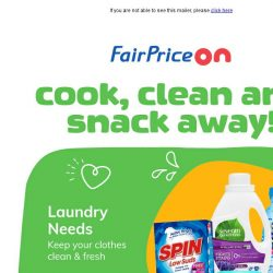 [Fairprice] Home Essentials from A to Z