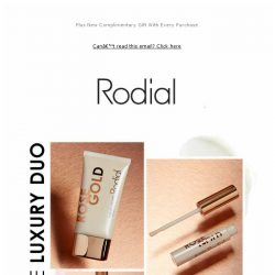 [RODIAL] Just Landed: Your New Luxury Hand and Lip Duo