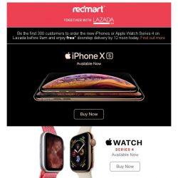 [Redmart] Get the latest iPhone XS today