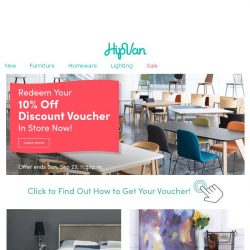 [HipVan] 👉Your 10% Discount Voucher Is Here with Bedroom Storage That Will Save You Space!