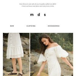 [MDS] New Shoes?!   Yes, Please.