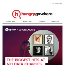 [HungryGoWhere] 7 days left to get 3 months of Spotify Premium at $1!