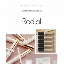 [RODIAL] Get Your Skin Runway Ready