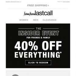 [Last Call] So many booties + extra 40% off everything!