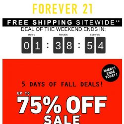 [FOREVER 21] SAYING FAREWELL… 😢 (+ free shipping)