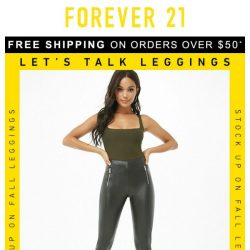 [FOREVER 21] NEW: Warm Fall Leggings