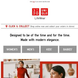 [UNIQLO Singapore] Check these out!