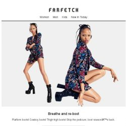 [Farfetch] Get back to your boots