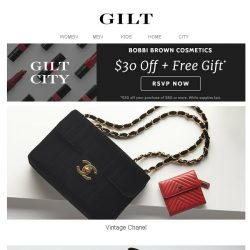 [Gilt] Vintage Chanel | Vintage Bags to Ties for Men