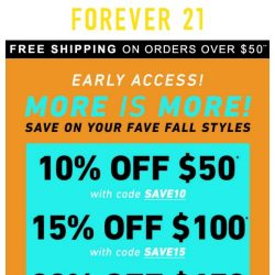 [FOREVER 21] GUILT-FREE SHOPPING ☺️