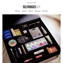 [Selfridges & Co] Psst...our rather brilliant beauty box is back in stock