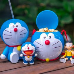 Golden Village: NEW Doraemon Tumbler & Popcorn Bucket Available for a Limited Time!