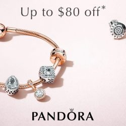 PANDORA: Sale with Up to $80 OFF Online & In Stores!