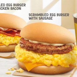 McDonald's: Scrambled Egg Burgers Are Back for a Limited Time Only!