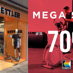 Kettler: Mega Sale with Up to 70% OFF Stationary Bikes, Treadmills, Cross Trainers & More