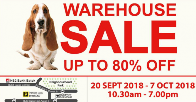 20 Sep - 7 Oct 2018 Hush Puppies Apparel  Further Clearance Warehouse Sale  with Up to 80% OFF Hush Puppies Apparel 43cf9f5da6