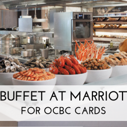 Marriott Cafe: Enjoy 1-for-1 High Tea or Dinner Buffet with OCBC Cards