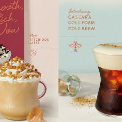 Starbucks: NEW Duo Cocoa Mocha, Speculoos Latte & Cascara Cold Foam Cold Brew