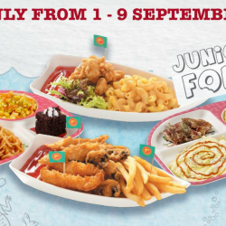The Manhattan FISH MARKET: Kids Dine FREE with Every Ala Carte Main Course Purchased!