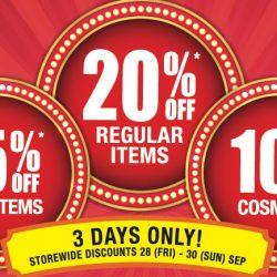 BHG: Super Sale with 20% OFF Regular Items, 15% OFF Sale Items & 10% OFF Cosmetics Storewide!