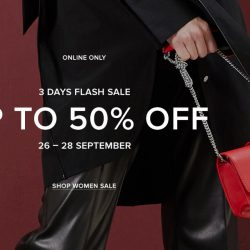 PEDRO: Online Flash Sale with Up to 50% OFF Bags, Shoes & Accessories!
