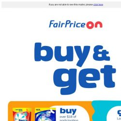 [Fairprice] Free Gifts Up For Grabs!