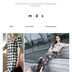 [MDS] Say what?! 30% OFF?