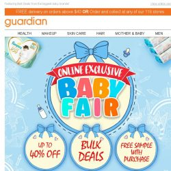[Guardian] 🍼 Here's our top Baby Deals & Steals for Parents!