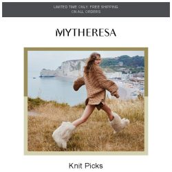 [mytheresa] Cozy knits for fall + limited time only: free shipping