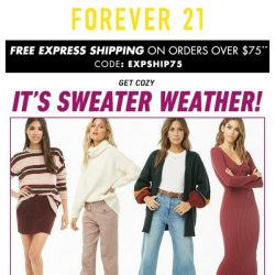 [FOREVER 21] NEW: Sweater Obsession