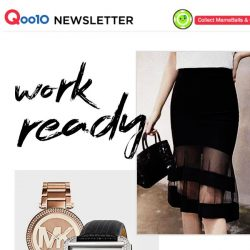 [Qoo10] Get Ready with Us ✔ Don't miss out on these superb deals we have for you!