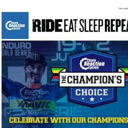 [Chain Reaction Cycles] THE Champion: Celebrate Sam Hill with us ➡️