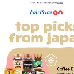 [Fairprice] Taste of Japan