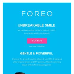 [Foreo] There's Always A Reason to Smile